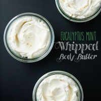 Eucalyptus Mint Whipped Body Butter | Food for My Family