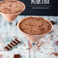 Chocolate Martini - Olivia's Cuisine