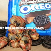 ~Bacon Fried Brownie Batter OREOS!   Oh Bite It