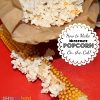 Biting The Hand That Feeds You: How To Dry and Pop Popcorn On The Cob!