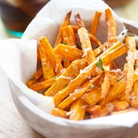 Parmesan Sweet Potato Fries | Easy Delicious Recipes: Rasa Malaysia