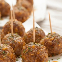 Zesty Sausage Cheese Meatballs (+$100 Giveaway) - Chew Out Loud