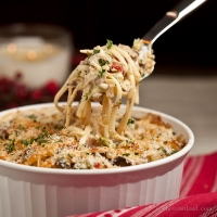 Turkey or Chicken Tetrazzini  - Chew Out Loud