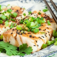 15-Minute Ginger Soy Asian Steamed Fish - Chew Out Loud