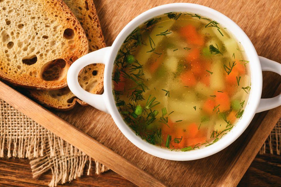 美味しそうなスープ