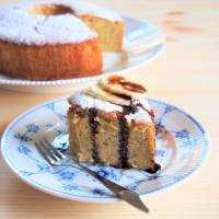 しとふわ食感♩米粉シフォンケーキ(プレーン&バナナ)のレシピ