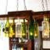 How To Make a Chandelier From Old Wine Bottles : Home Improvement : DIY Network