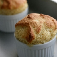 two-ingredient maple soufflé | Sugarlaws