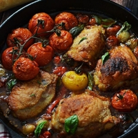 Chicken Cacciatore - Host The Toast
