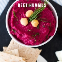 Beet Hummus Recipe | Not Your Standard