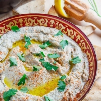 Baba Ghanoush on Closet Cooking
