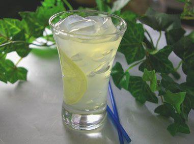 3.ところてんin蜂蜜レモン