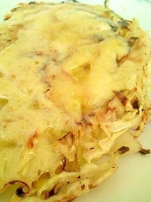 1.キャベツとじゃがいものチーズ焼き