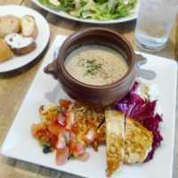 広島「カフェグリグリ」のランチはパンとシフォンケーキが食べ放題♡