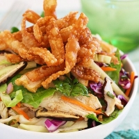 Chinese Chicken Salad | Easy Delicious Recipes