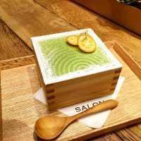 升入り抹茶スイーツが東京でも!「サロンギンザサボウ」の茶房パフェに注目♩