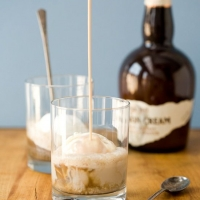 Bourbon Cream Root Beer Floats | Love and Olive Oil