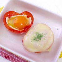 たまごドボン!「よくばりトマトのチーズ詰め」のWトロトロ食感に夢中♩