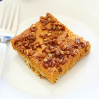 Pumpkin Pecan Pie Squares | Easy Delicious Recipes