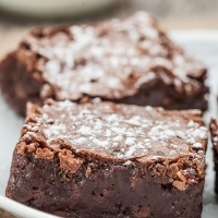 Triple Chewy Fudgy Brownies - Chew Out Loud