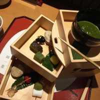 木箱で雅なおもてなし。京都「錦一葉」の抹茶フォンデュは通も唸る本格派♩