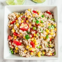 Southwestern Barley Salad - Chew Out Loud