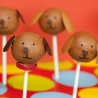 Puppy Cake Pops, Adorably Sweet - Chew Out Loud
