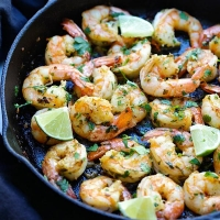 Cilantro Lime Shrimp | Easy Delicious Recipes