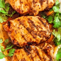 Honey Mustard Grilled Pork Chops - Chew Out Loud