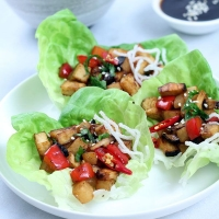 Vegan Lettuce Wraps | Easy Delicious Recipes