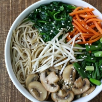 The Garden Grazer: Asian Noodle Soup
