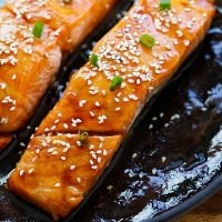 Honey Teriyaki Salmon | Easy Delicious Recipes