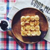 話題の「塩バナナトースト」のレシピとアレンジをご紹介!甘じょっぱさがクセになる♩
