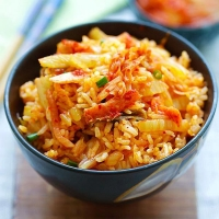 Kimchi Fried Rice | Easy Delicious Recipes