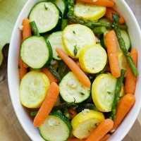 20分で作れてとっても簡単!絶品「春野菜のロースト」のレシピ