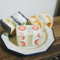 月に数回だけ開店!岐阜「円居」の美形フルーツサンドを食べたい人続出♩