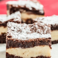 Chewy, Fudgey Cheesecake Brownies - Chew Out Loud