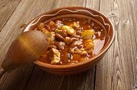 栄養満点のメキシコ料理 豆とベーコンのスープ [世界のおうちご飯] All About