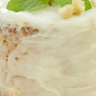 ホットケーキミックスで簡単!チーズクリームのミニキャロットケーキ