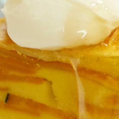 話題の萌え断ケーキ!炊飯器でかぼちゃガトーインビジブル