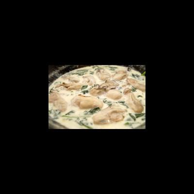 ホワイトソースに旨味じわっ♩『牡蠣のクリーム煮』ならワンパンで本格仏料理の味