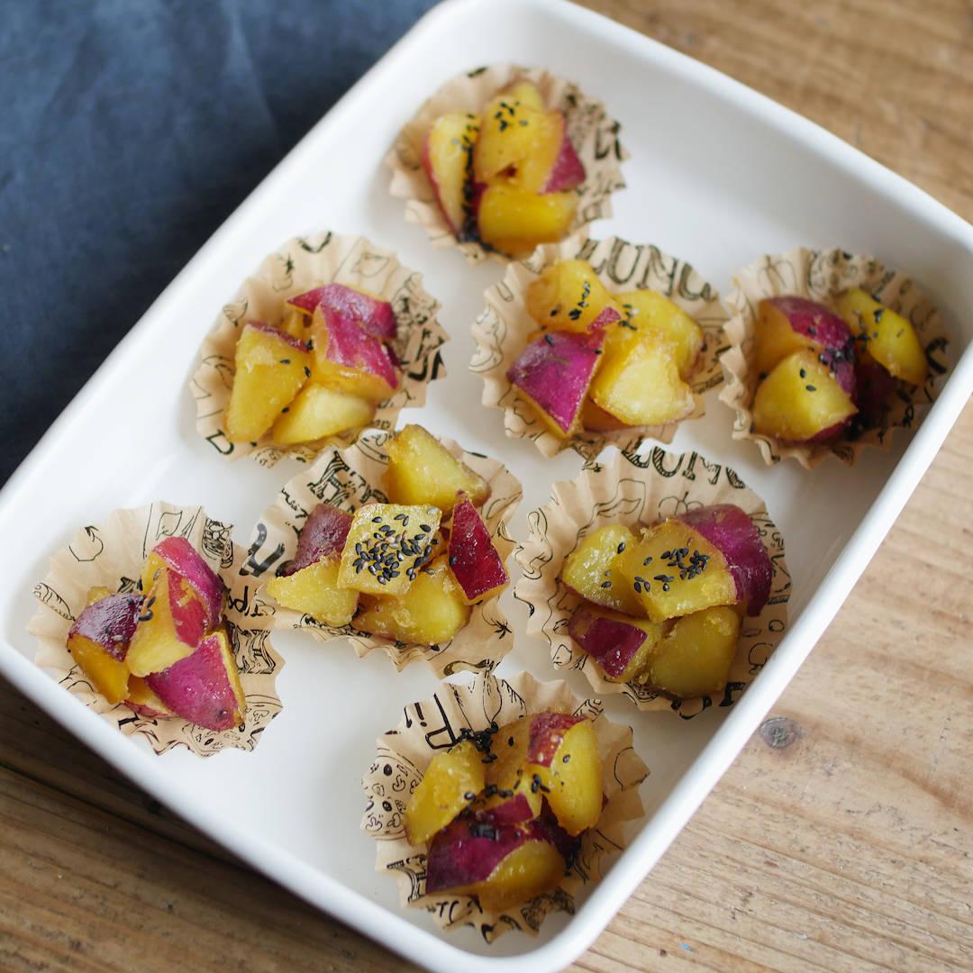 揚げない大学芋の作り方&人気レシピ5選。お弁当にもおすすめ!
