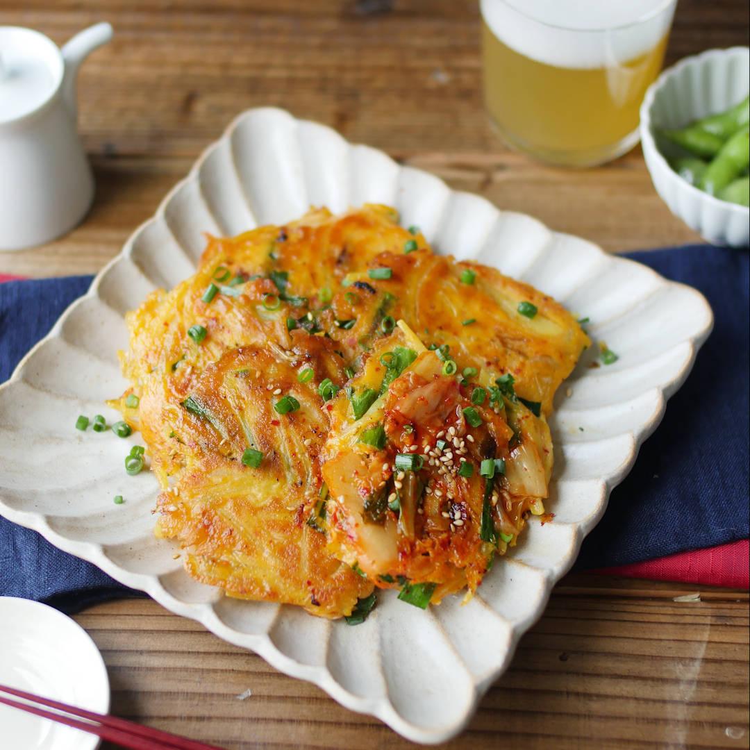 「じゃがいものキムチチヂミ」のレシピ。人気アレンジ5選も絶品♪