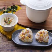 【Simple Cooking】鮭みりんといり卵のおにぎり&鶏ごぼうのごま味噌汁