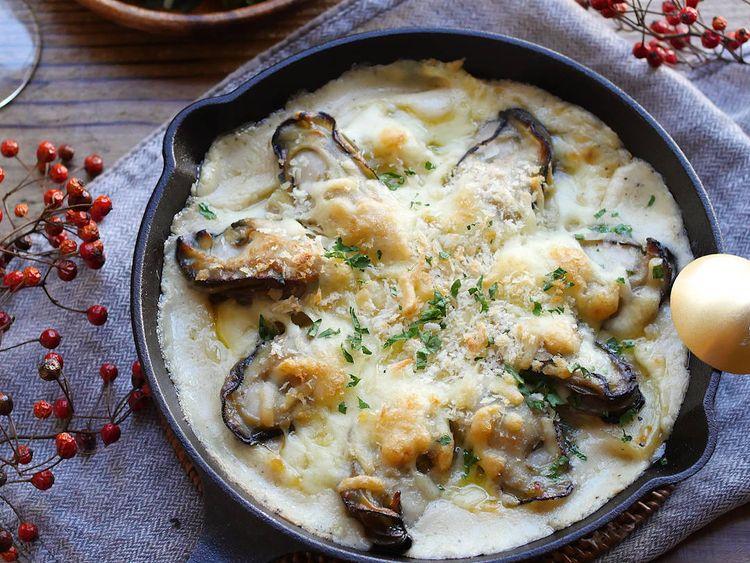 人気 牡蠣 の グラタン レシピ