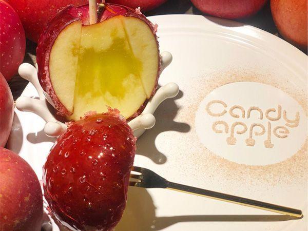 行列必至!? りんご飴専門店「キャンディーアップル」が代官山にオープンの画像