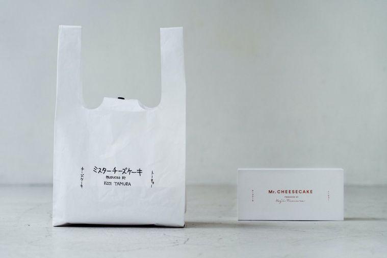 1日限定の販売。「Mr. CHEESECAKE」と加賀美健氏のコラボエコバッグが登場!の画像